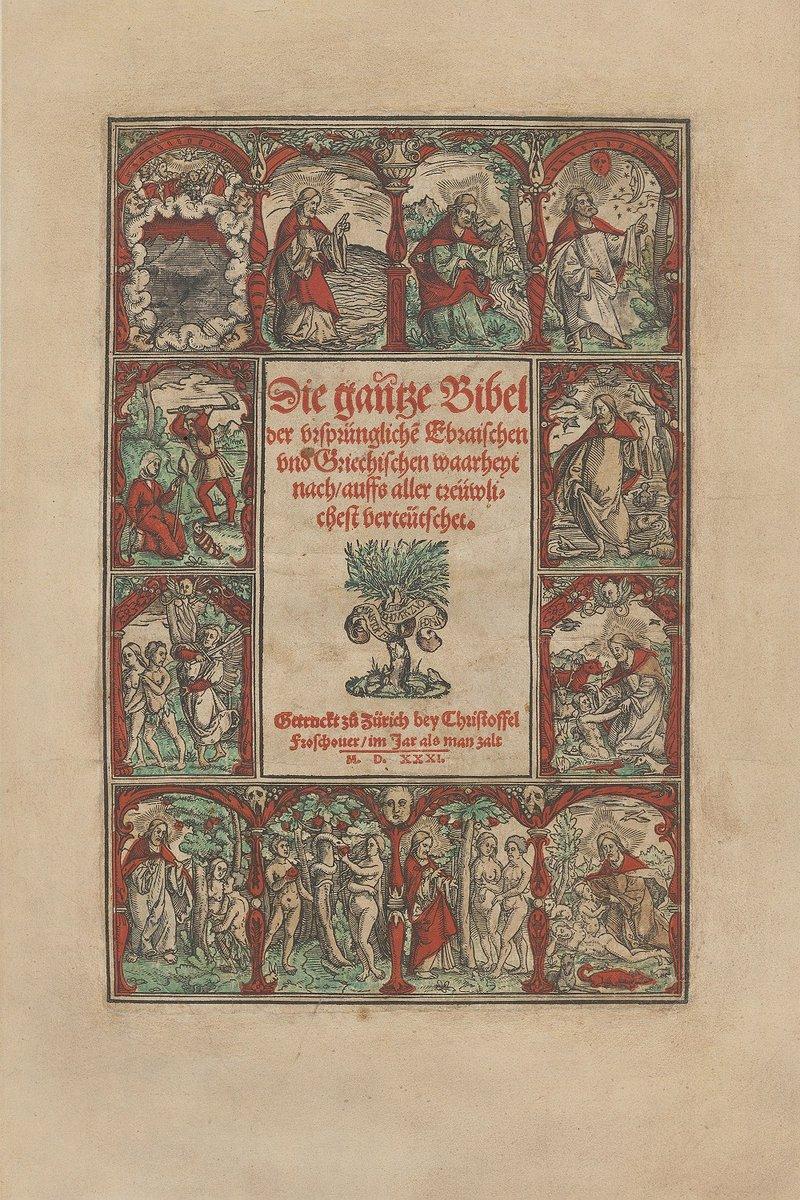 Titel Froschauer Bibel 1531